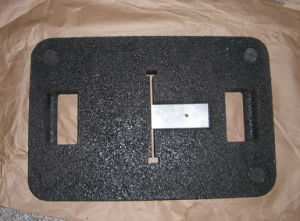 Portable Recycled Rubber Base for Sign pictures & photos