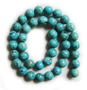 Turquoise Loose Beads 16""