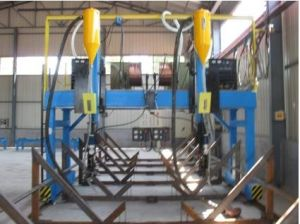 H-Beam Welder, Beam Welding Machine, H-Beam Produciton Line pictures & photos