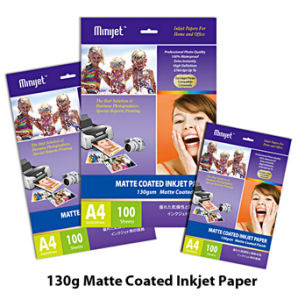 128G Matte Coated Inkjet Photo Paper