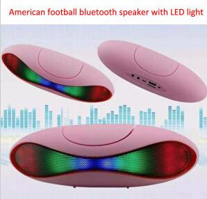 Portable American Football Wireless Bluetooth Speaker