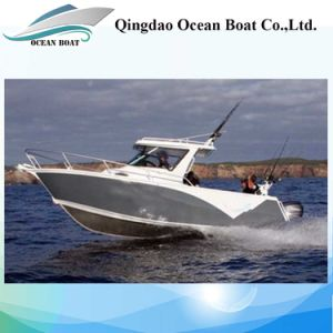 Low Price 6.85m with High Strength Buoyancy Fishing Yacht pictures & photos