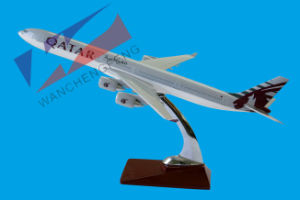 A340-600 Qatar Airways Resin Plane Model pictures & photos