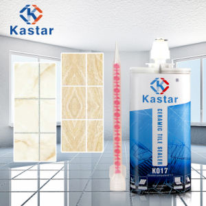 Natural Delicacy Water Resistant Silicone Epoxy Tile Adhesive pictures & photos