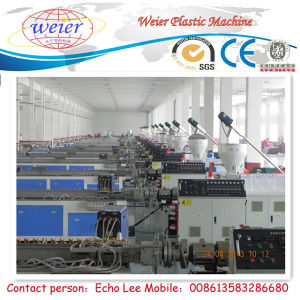 Turnkey Project PVC-WPC Profile Machine pictures & photos