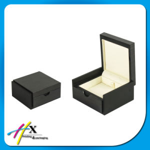 Luxury Black Jewelry Gift Box Wood Necklace Box with Factory-Price pictures & photos