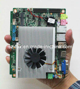 Intel Core I7 Processor Thin Client Motherboard with 3G/WiFi/Msata DC 12V Input pictures & photos