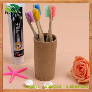 Custom 100% Natural Bamboo Toothbrush for Daily Use pictures & photos