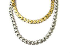 Magnetic Stainless Steel Necklace (SGN704017)