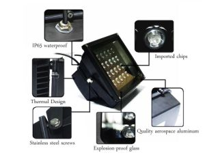 Hot Selling Adjustable Angle Color LED Flood Lights pictures & photos