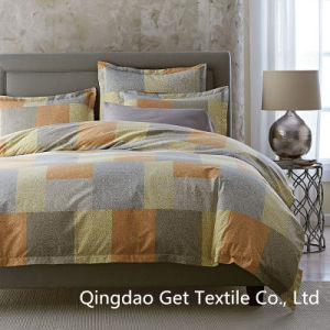 Squares 100% Cotton/ Polyester Comfortable Bedding Sets 2016 pictures & photos