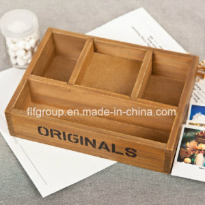 Eco-Friendly Customized Cheap Paulownia Wood Box for Wine Storage pictures & photos