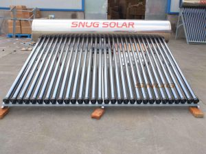 Sloping Roof Pressure Solar Water Heater pictures & photos