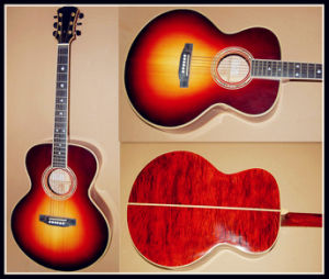 Acoustic Solid Wood Guitar (YZ-01S)
