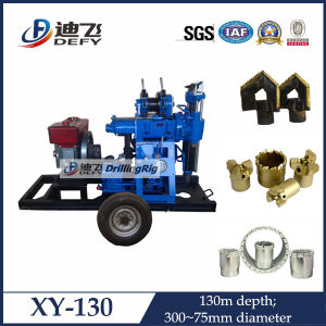 Diamond Core Drilling Machine Mounted on Wheel Trailer pictures & photos