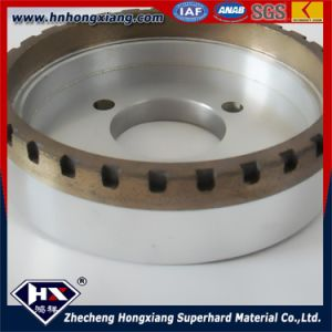 Long Life Work Diamond Outer Segment Grinding Wheel for Glass pictures & photos