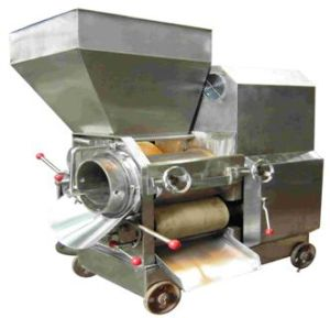 350kg/Hour Fish Skin and Fish Bone Removing Machine
