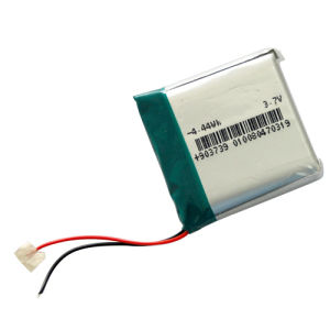 Polymer Li-ion Battery 903739 1200mAh 3.7V With PCB and Lead Wire