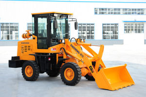 1.5 Ton 0.5m3 Mini Loader, Mini Wheel Loader with CE pictures & photos