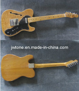 Ash Veneer Body Top Quality Tele Electric Guitar pictures & photos