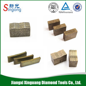 Diamond Stone Saw Blade Segment for Cutting Granite pictures & photos