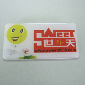 Custom Epoxy Name Badge Party Badge (PBG21010) pictures & photos
