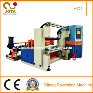 Jumbo Roll Slitter Machine for PVC Rolls pictures & photos