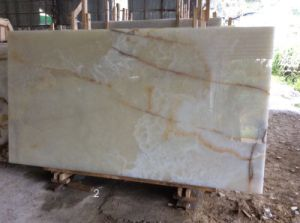 Brand New Hot Onyx White Crystal Slabs Marble Tile on Promotion pictures & photos