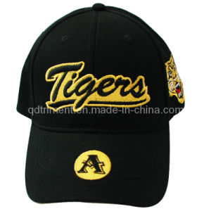 Constructed Brushed Cotton Twill Print Embroidery Baseball Cap (TMB9580) pictures & photos