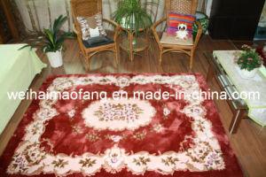 Raschel Mink Shaggy Carpet (MQ-CP008) pictures & photos