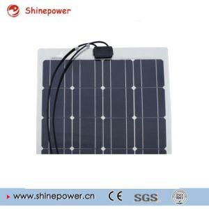 Semi-Flexible Monocrystalline Solar Panel/Solar Module Camper RV Yacht Home pictures & photos