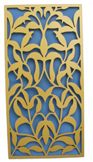 Carved Grille MDF Wooden Decorative Panel (WY-28) pictures & photos