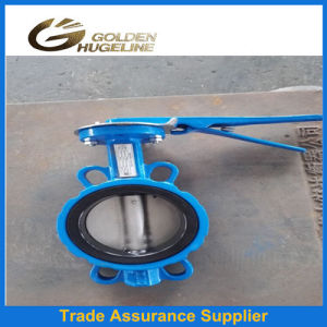 DIN 2532 Pn16 Wafer Flange Butterfly Valves pictures & photos