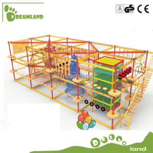 Dreamland Exciting Kids Adventurous Obstacle Rope Course pictures & photos