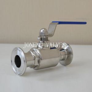Stainless Steel Food Grade Clamped Ball Valve pictures & photos