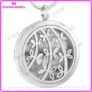 Essential Oil Diffuser Necklaces Perfume Aromatherapy Sapling Pattern Locket pictures & photos