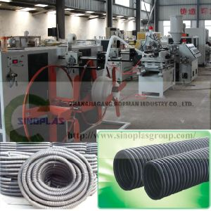 PVC Corrugated Pipe Line pictures & photos