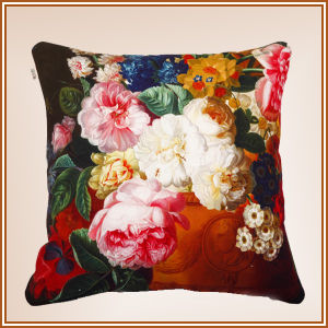 Cotton Cushion Canvas Cushion Digital Printed Cushion pictures & photos