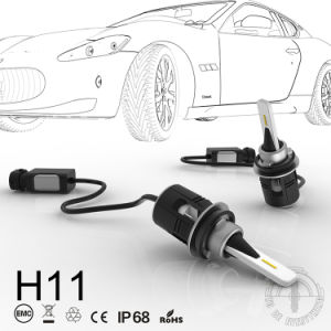 B6 Car H11 LED Headlight with Turbine 24W 3600lm Best Quality pictures & photos