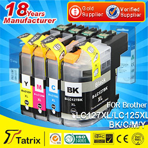 LC121 LC123 LC125 LC127 Compatible for Brother Ink Cartridges/ Replacement Ink Cartridges LC121 LC123