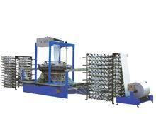Four-Shuttle Circular Loom Machine for Flour/Cement Sacks