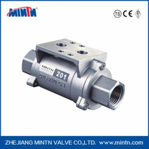 Mintn 201 Series Pneumatic Thread Connection Shuttle Valve pictures & photos