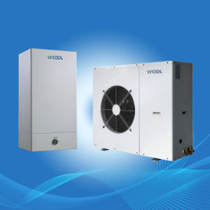Heatpump Water Heater Evi for House Heating and Air Conditioning R404A, Split Evi Heat Pump Air Source pictures & photos