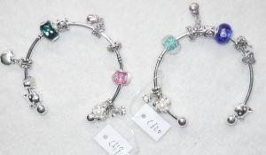 Charm Bracele T - C619-620