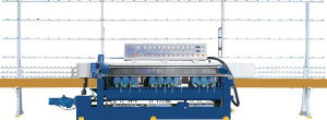 11spindle Glass Straight Line Bevelling Machine pictures & photos