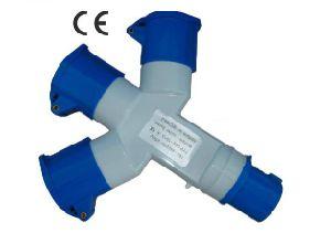 Industrial Plugs and Socket, Multifunction Socket (KB-1012-4)