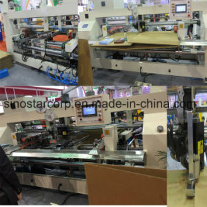 Dual-Head Semi-Auto Box Stitching Machine pictures & photos
