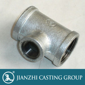Hot-Dopped Galvanized Malleable Iron Tee pictures & photos