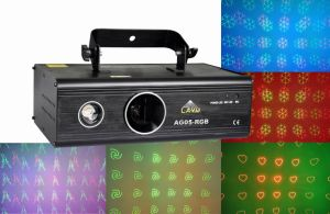 New Moving Head Animation Grating Laser Light with RGB LED Background (AG05-RGB)