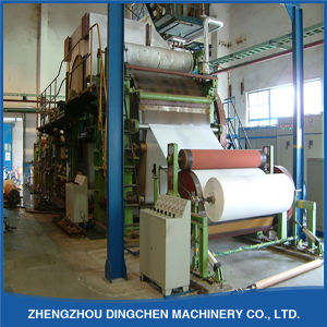 Paper Machinery 1092mm Serviettes Napkin Tissue Making Machine Production Line pictures & photos